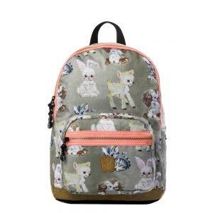 Pick & Pack Cute Animals Backpack M beige multi Laptoprugzak