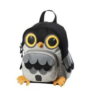 Pick & Pack Cute Owl Shape Backpack grey multi Kindertas