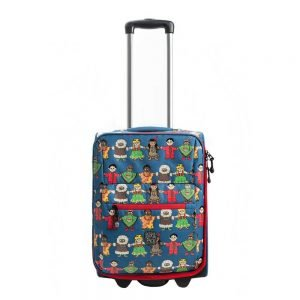 Pick & Pack Cute Peace Kindertrolley blue multi Kinderkoffer