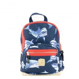 Pick & Pack Shark Backpack S navy Kindertas