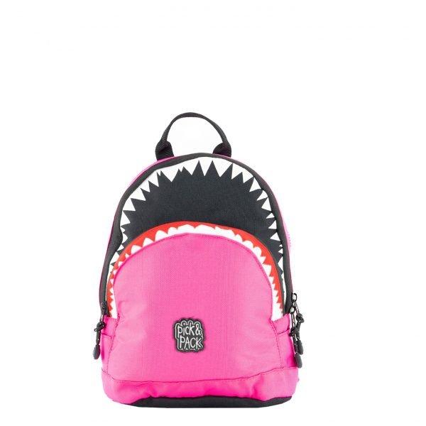 Pick & Pack Shark Shape Backpack S fuchsia Kindertas