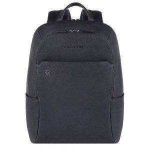 Piquadro Black Square Backpack night blue backpack