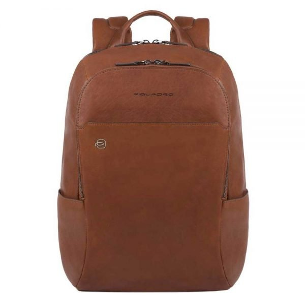 Piquadro Black Square Backpack tobacco backpack