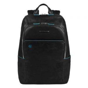 Piquadro Blue Square Backpack black backpack