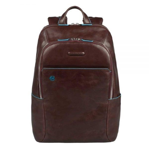 Piquadro Blue Square Backpack mahogany backpack