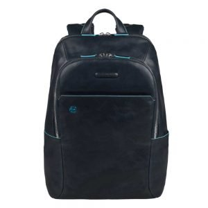 Piquadro Blue Square Backpack night blue backpack
