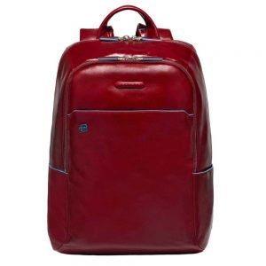 Piquadro Blue Square Backpack red backpack