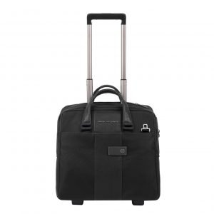 Piquadro Blue Square Business Trolley black Zakelijke koffer