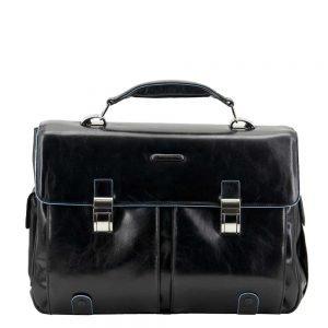 Piquadro Blue Square Computer Briefcase black