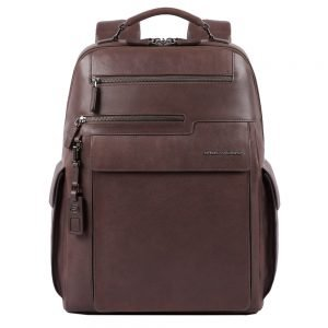 Piquadro Vostok Computer Backpack with iPad 11' / iPad 9.7 compartment dark brown backpack