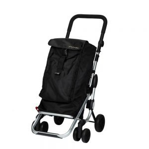 Playmarket Go Up Boodschappentrolley black Trolley