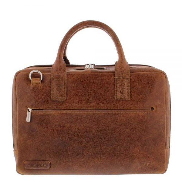 "Plevier Urban Sandyford Laptoptas 2 vaks 15.6"" cognac"
