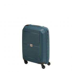 Princess Traveller Beijing 4 Wiel Cabin Trolley S dark blue Harde Koffer