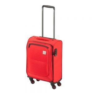 Princess Traveller Colombo 4 Wiel Cabin Trolley S red Zachte koffer