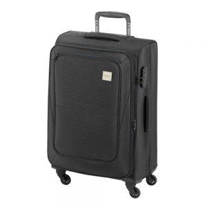 Princess Traveller Colombo 4 Wiel Trolley L black Zachte koffer