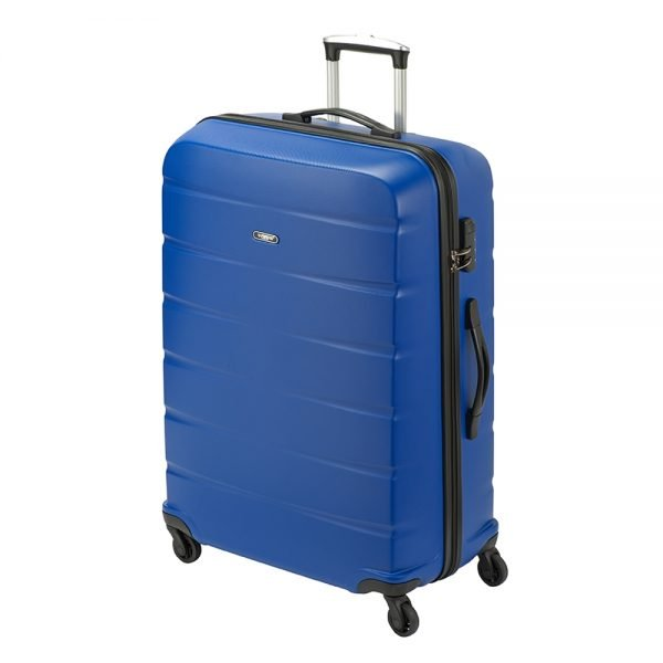 Princess Traveller Grenada 4 Wiel Trolley L blue Harde Koffer