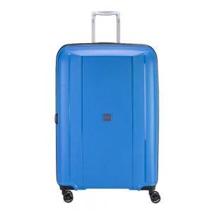 Princess Traveller Havana 4 Wiel Trolley L blue Harde Koffer