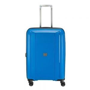 Princess Traveller Havana 4 Wiel Trolley M blue Harde Koffer