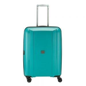 Princess Traveller Havana 4 Wiel Trolley M green Harde Koffer
