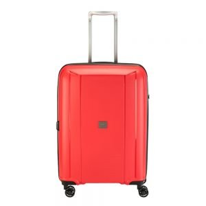 Princess Traveller Havana 4 Wiel Trolley M red Harde Koffer