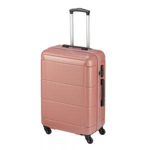 Princess Traveller Macau 4 Wiel Trolley M pink Harde Koffer
