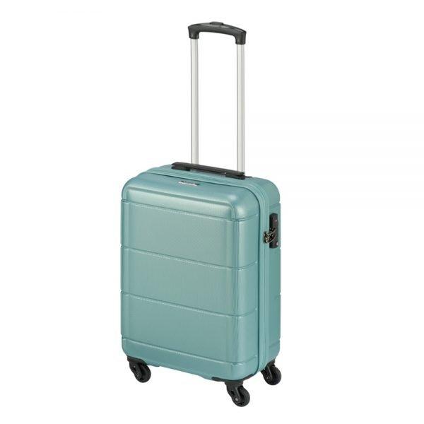 Princess Traveller Macau Cabin Trolley S light blue Harde Koffer