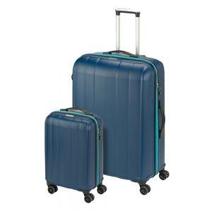 Princess Traveller Montreal 2 Delige Kofferset blue