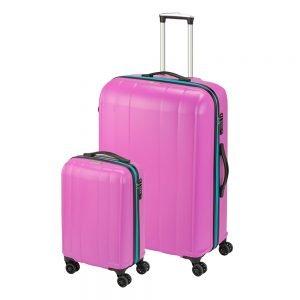 Princess Traveller Montreal 2 Delige Kofferset pink