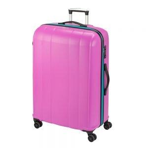 Princess Traveller Montreal 4 Wiel Trolley L pink Harde Koffer