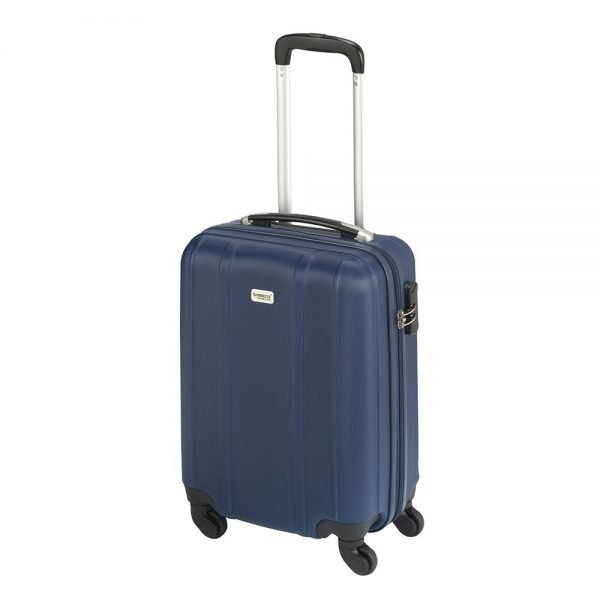 Princess Traveller Santiago Cabin Trolley S dark blue Harde Koffer