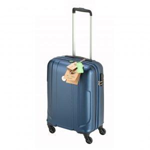 Princess Traveller Sumatra Recycled PET Cabin Trolley S dark blue Harde Koffer