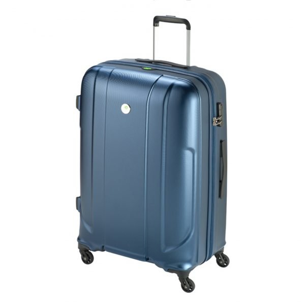 Princess Traveller Sumatra Recycled PET Trolley L dark blue Harde Koffer