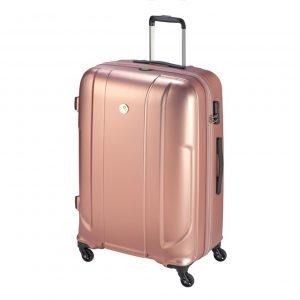 Princess Traveller Sumatra Recycled PET Trolley L pink Harde Koffer