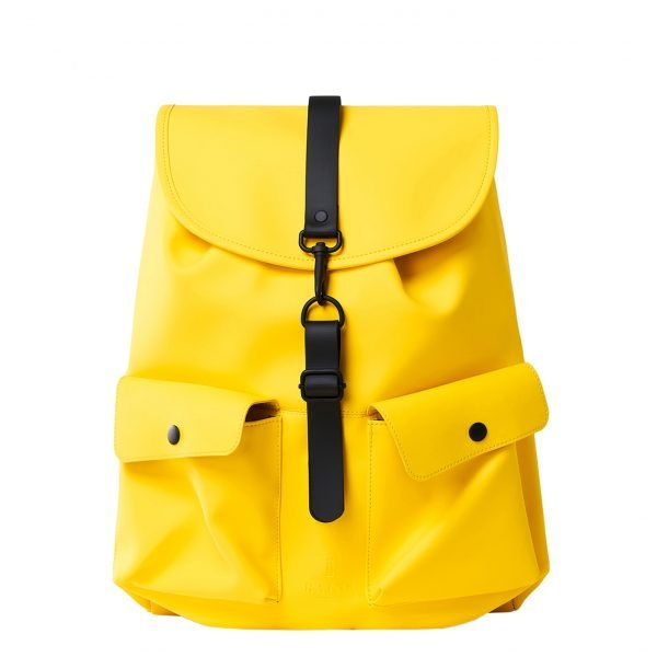 Rains Original Camp Backpack yellow backpack