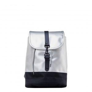 Rains Original Drawstring Backpack silver Rugzak