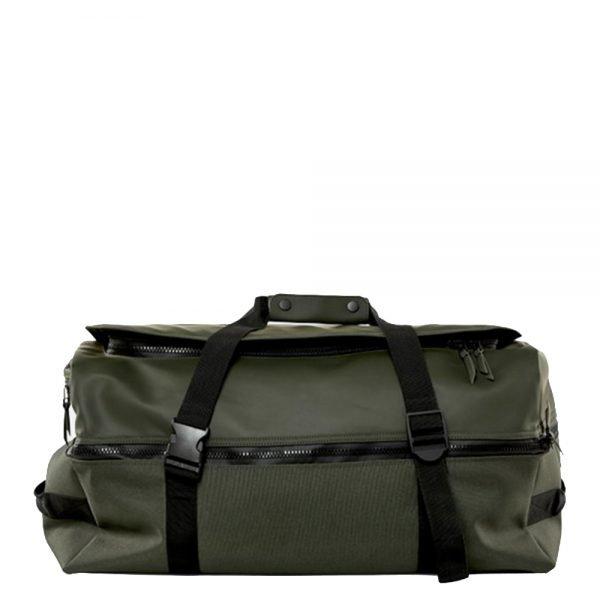 Rains Original Duffel Backpack Large green Weekendtas