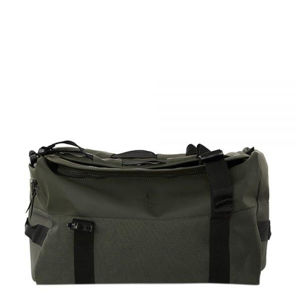 Rains Original Duffel Backpack green Weekendtas