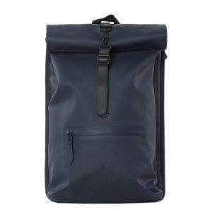 Rains Original Roll Top Backpack blue backpack