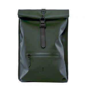 Rains Original Roll Top Backpack green backpack