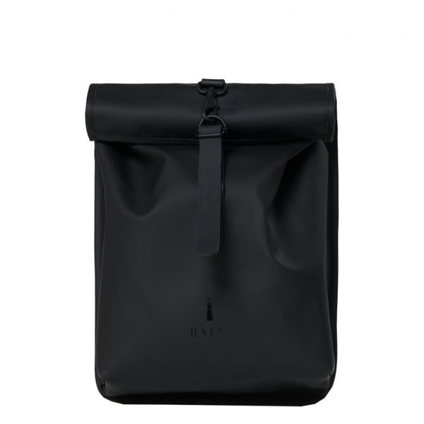 Rains Rolltop Mini black backpack