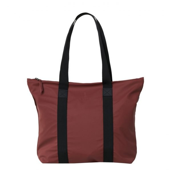 Rains Tote Bag Rush maroon Damestas