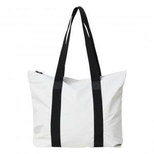 Rains Tote Bag Rush off white Damestas