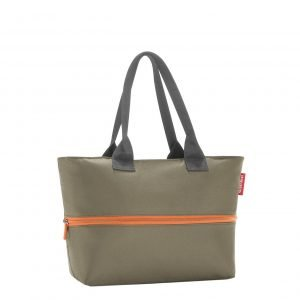 Reisenthel Shopping Shopper e1 olive green Damestas