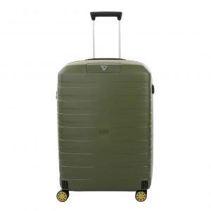 Roncato Box 2.0 Young Medium 4 Wiel Trolley 69 kiwi Harde Koffer