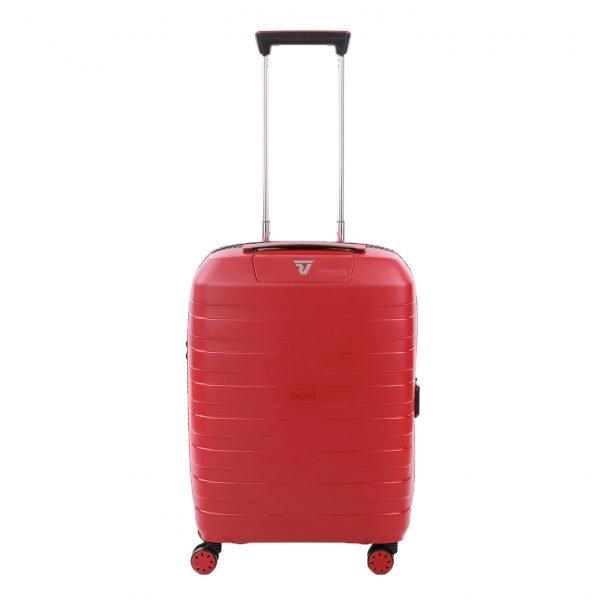 Roncato Box 4.0 4 Wiel Cabin Trolley 55/20-23 rosso Harde Koffer