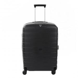 Roncato Box 4.0 Medium 4 Wiel Trolley 69 nero Harde Koffer