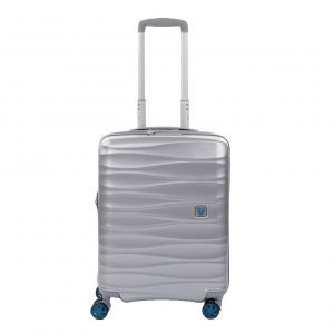 Roncato Stellar 4 Wiel Cabin Trolley Exp silver Harde Koffer