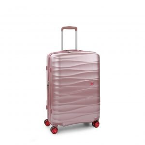 Roncato Stellar Medium 4 Wiel Trolley Exp rosa Harde Koffer