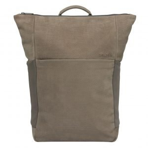 Salzen Vertiplorer Plain Backpack Leather weims taupe backpack