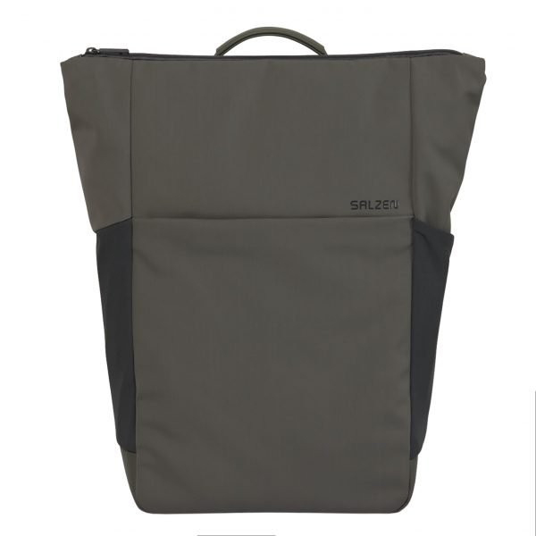 Salzen Vertiplorer Plain Backpack olive grey backpack